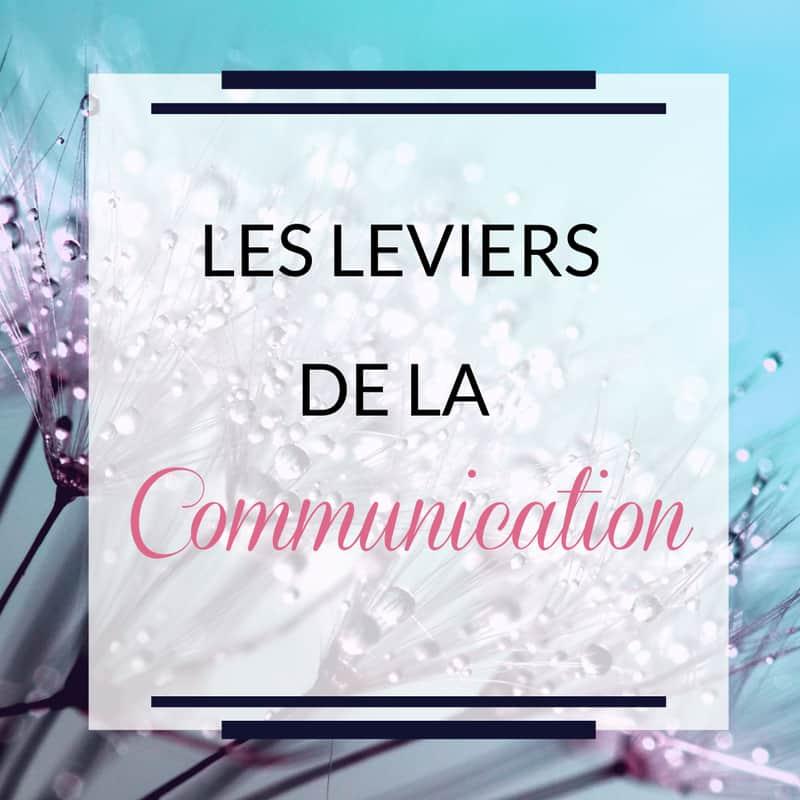 Les différents leviers de Communication