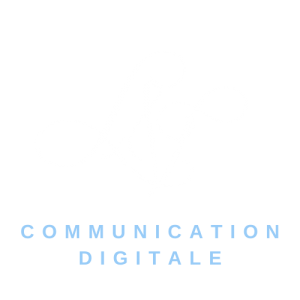 logo version blanc fond transparent lvdigitale Communication