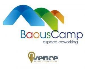 logo BaousCamp Vence espace de coworking