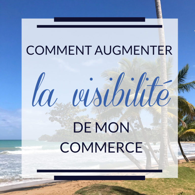 Image illustration Augmenter la visibilité d'un commerce local